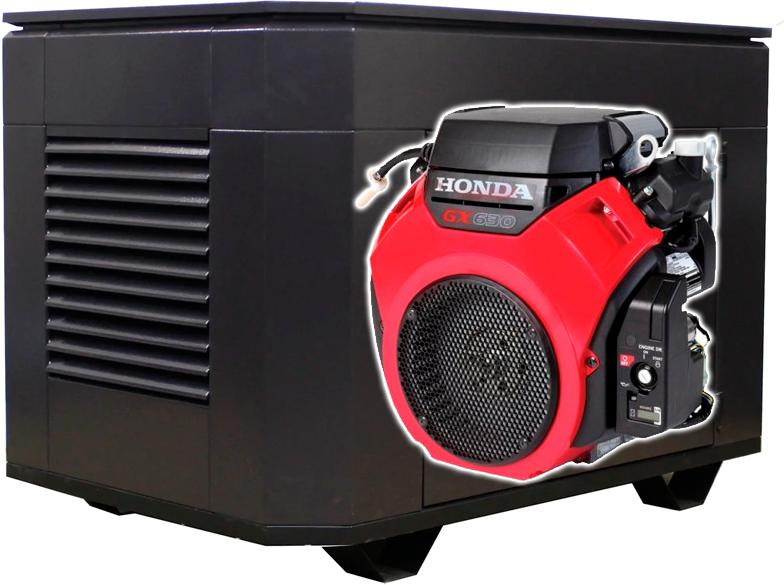Бензогенератор Honda 630 10 кВт